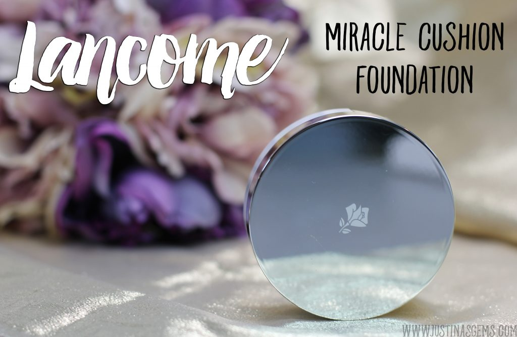 lancome miracle cushion foundation review