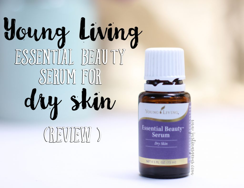 young living essential beauty serum for dry skin review