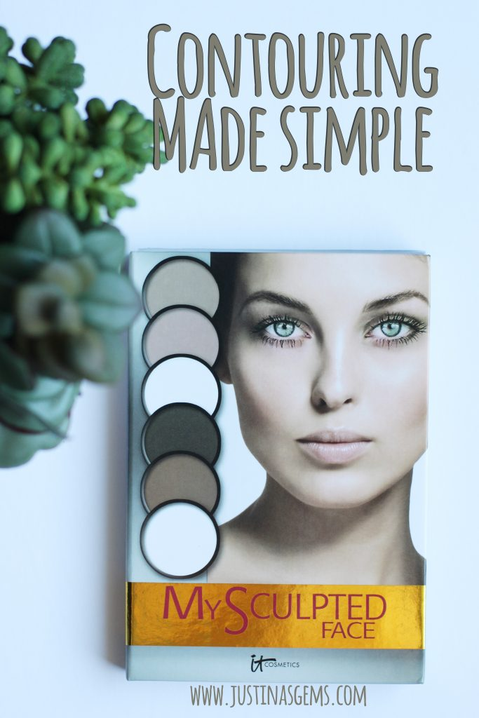 contouring made simple it cosmetics my sculpted face palette