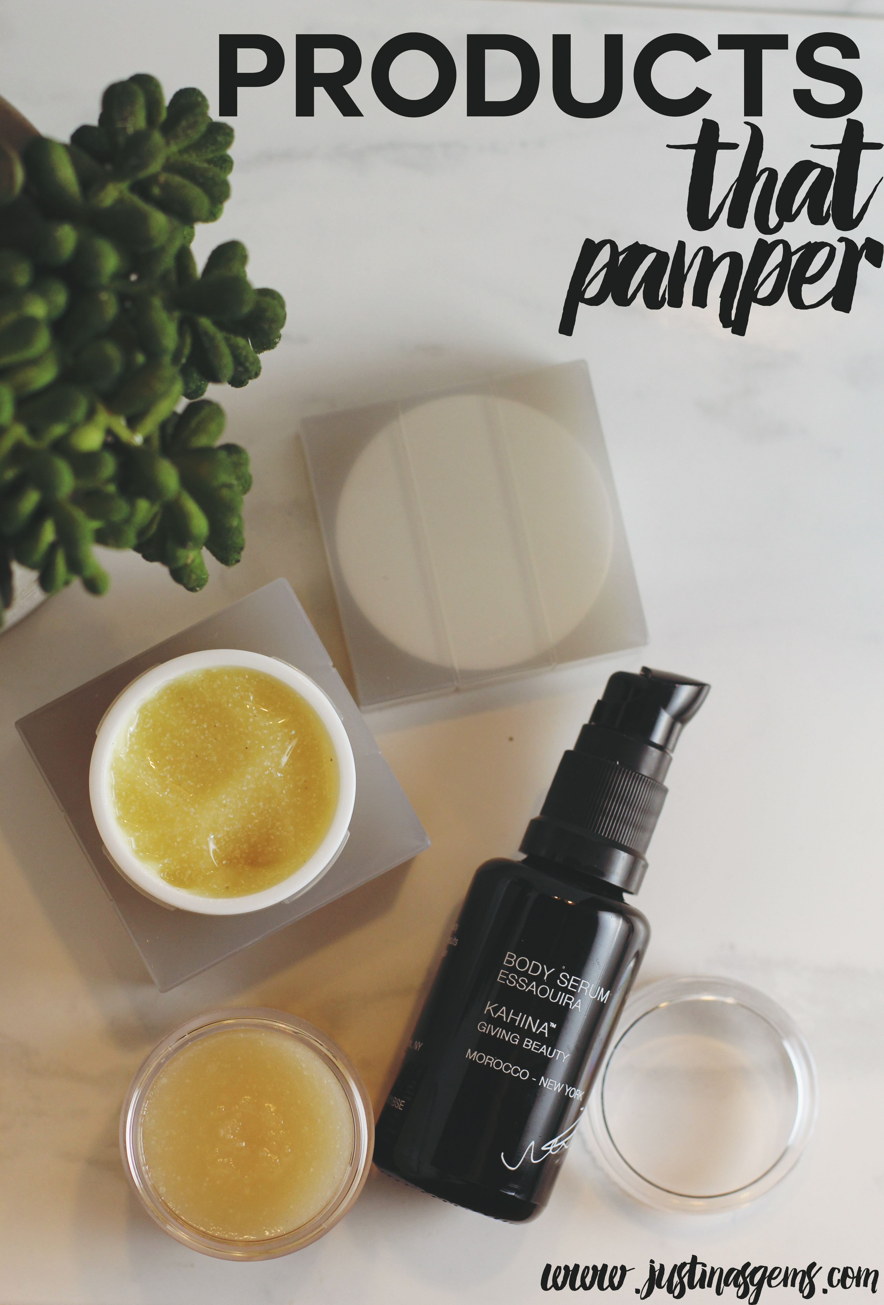 Products That Pamper