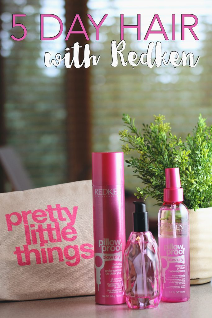 5 day hair with redken