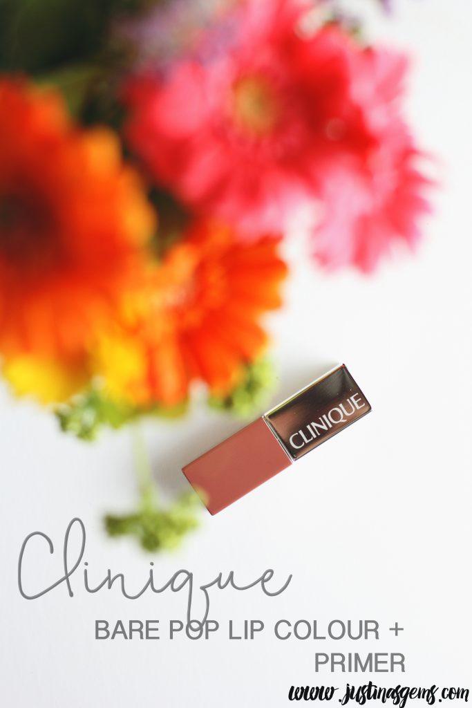 clinique bare pop lip colour + primer