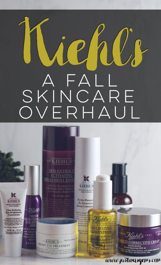 kiehl's fall skincare routine
