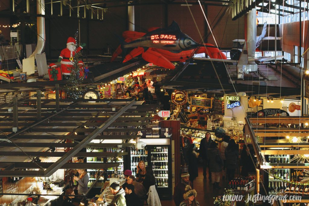 milwaukee public market in the winter