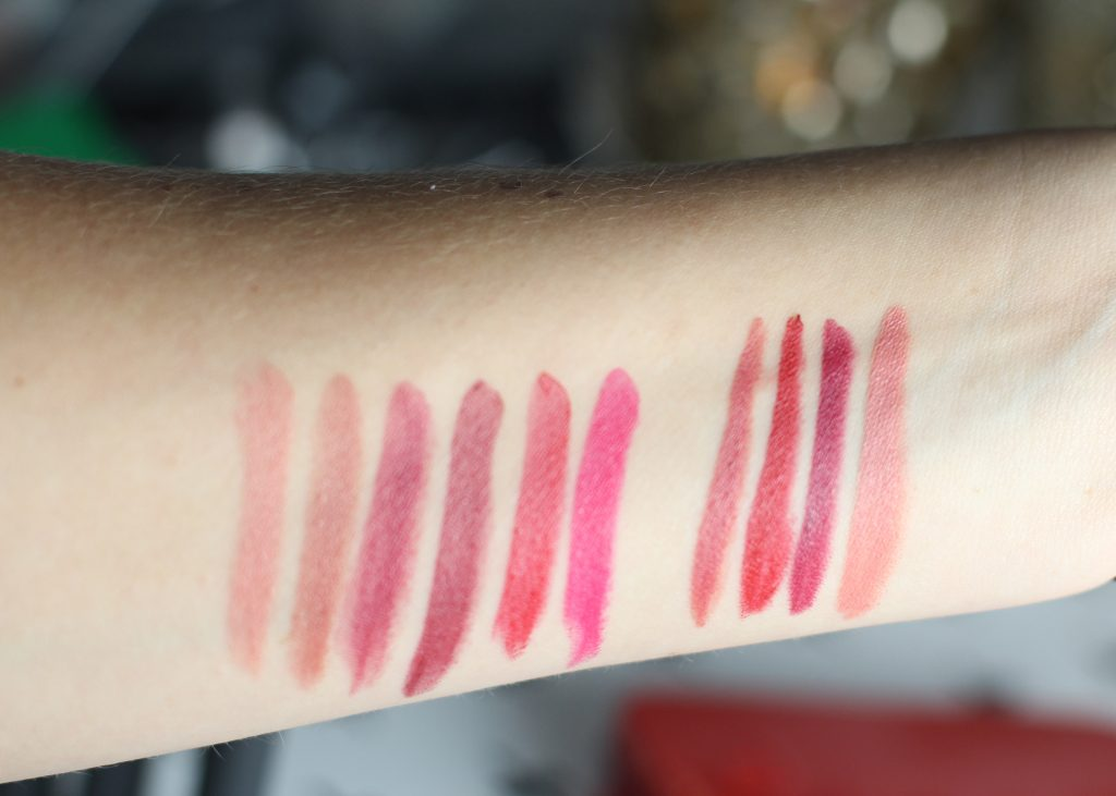 bite holiday lipstick swatches