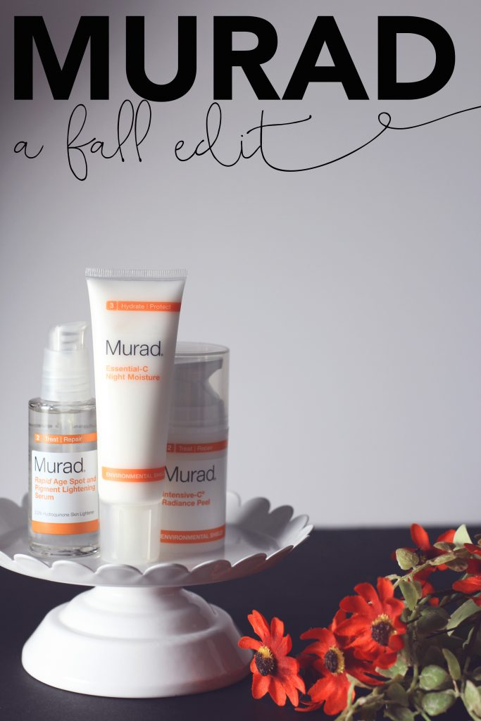 murad skincare for fall