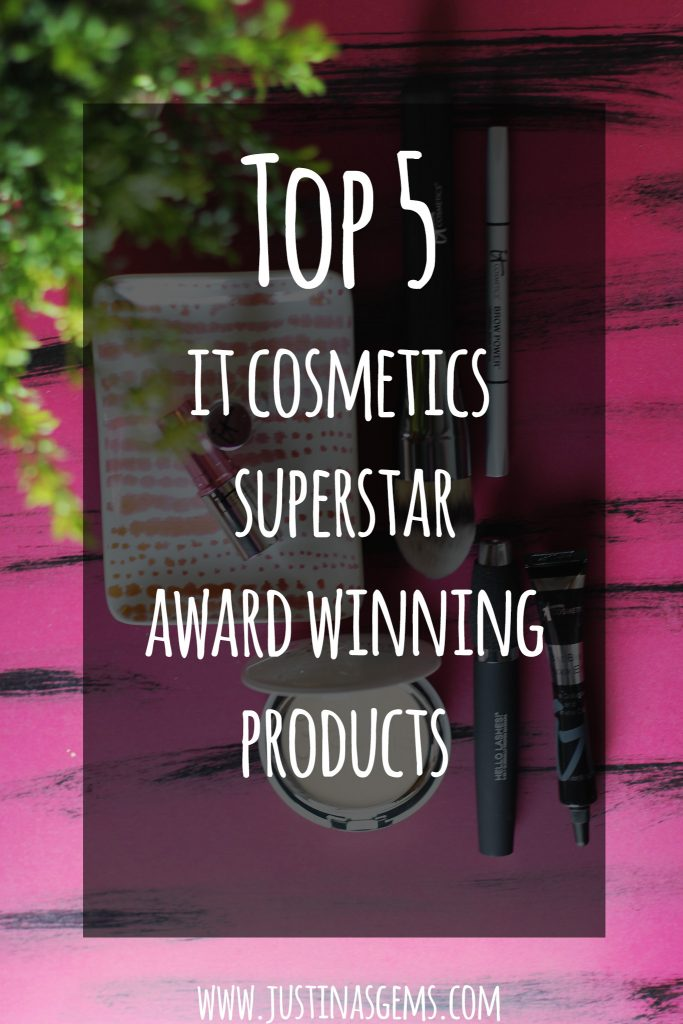 top 5 it cosmetics superstar award winning products