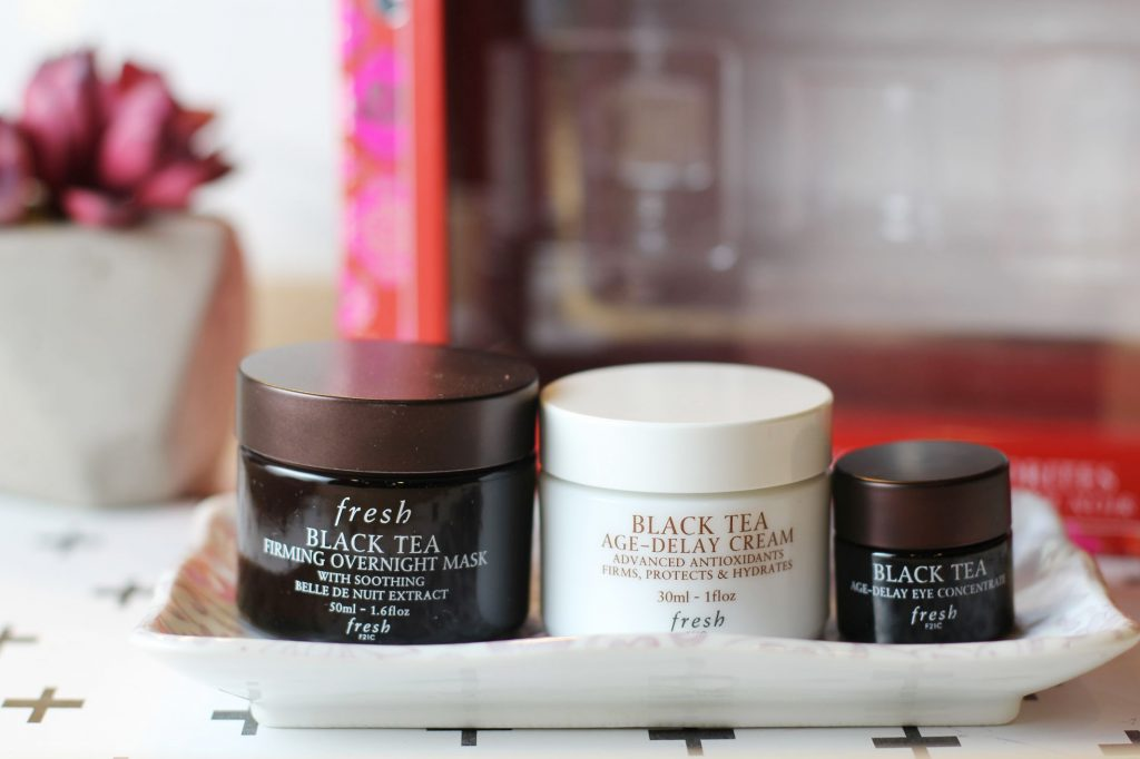 fresh beauty black tea skincare favorites