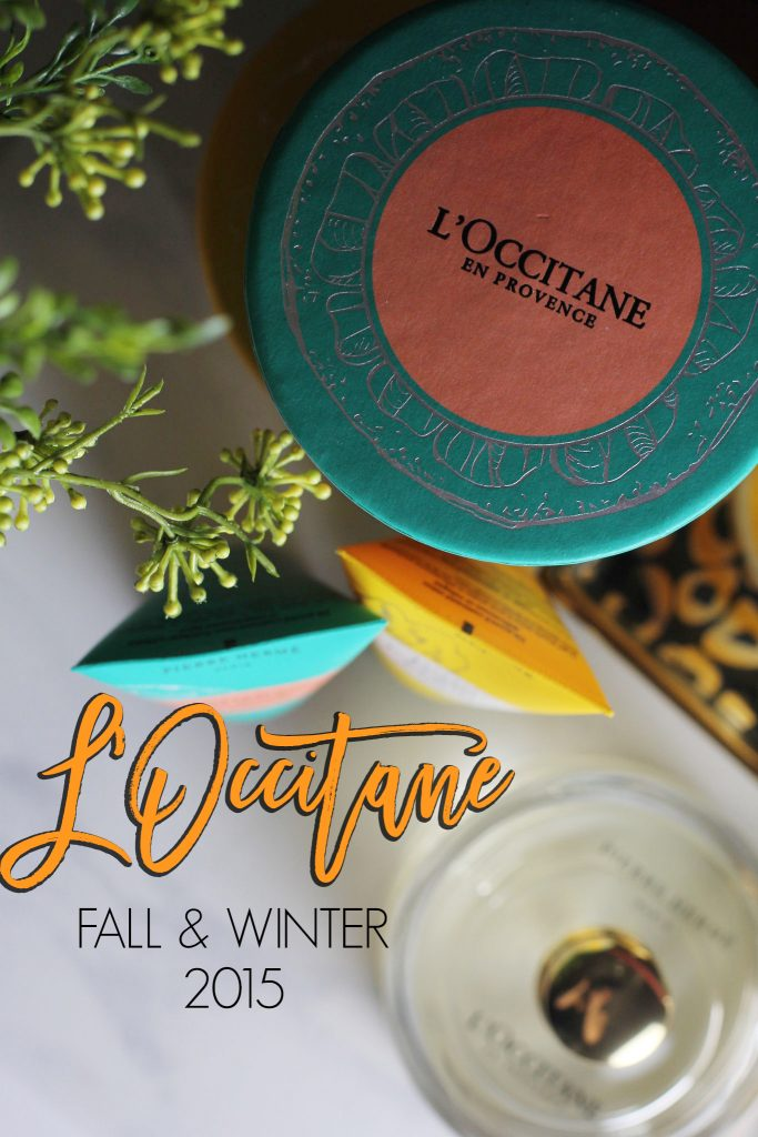 l'occitane fall and winter launches 2015