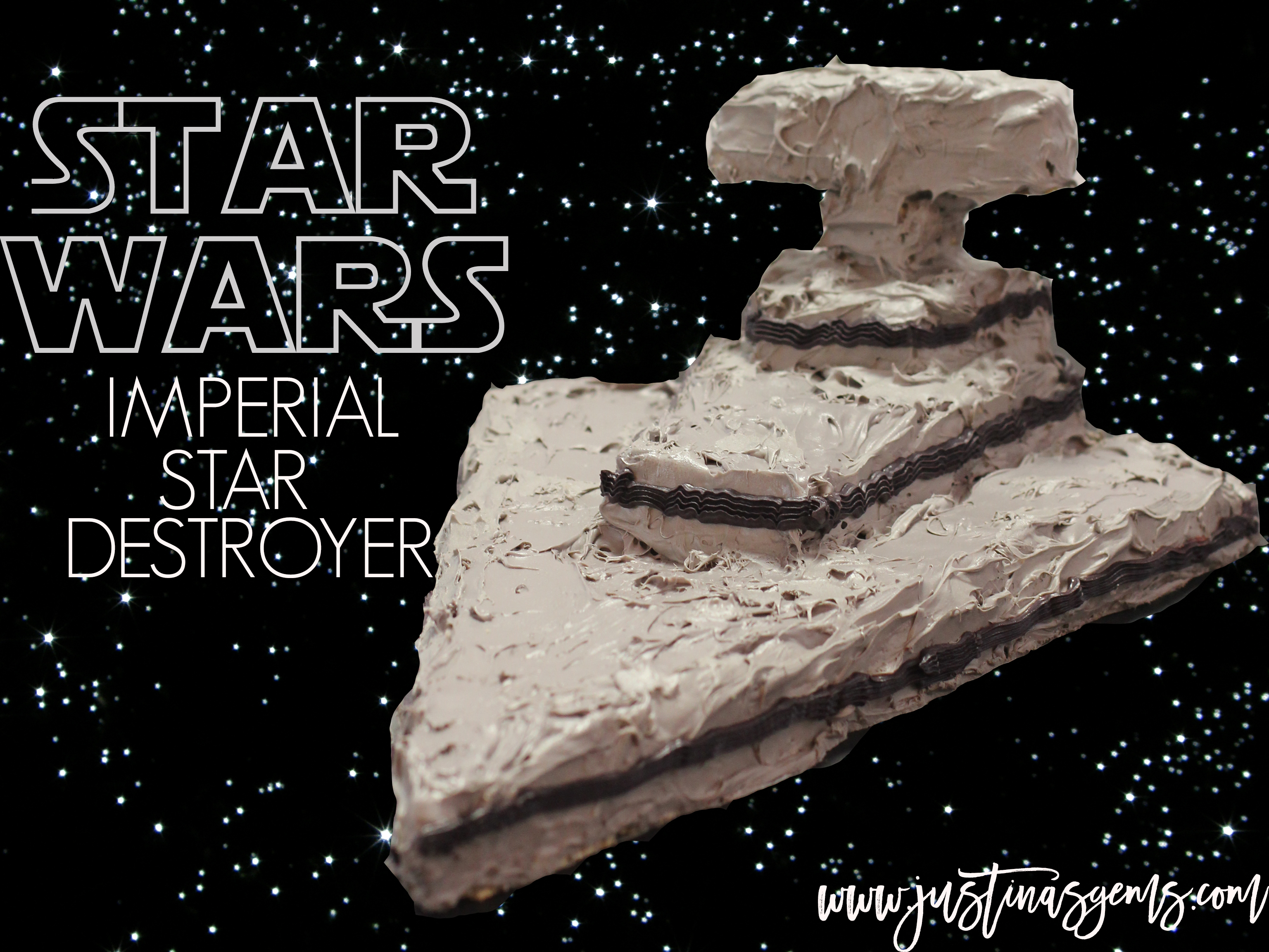 Star Wars Imperial Star Destroyer Honey Nut Cheerio Bars