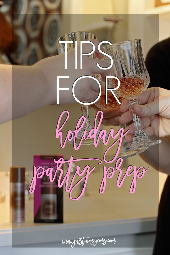 tips for holiday party prep