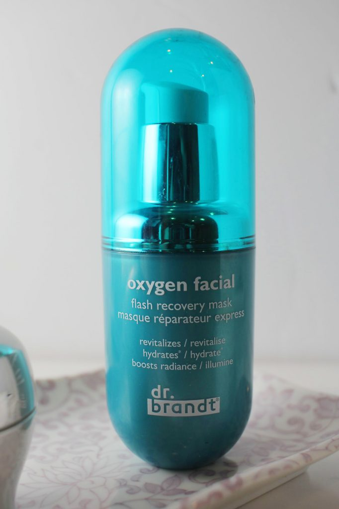 dr brandt oxyen facial flash recovery mask