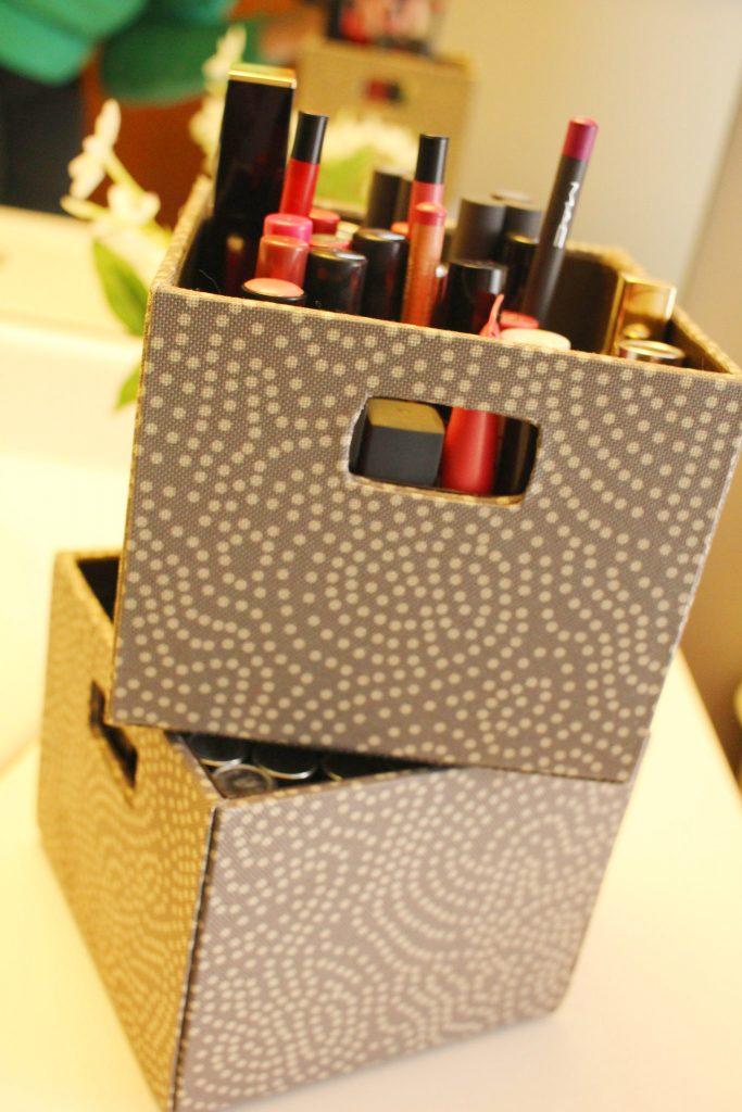 lipstick storage cubes
