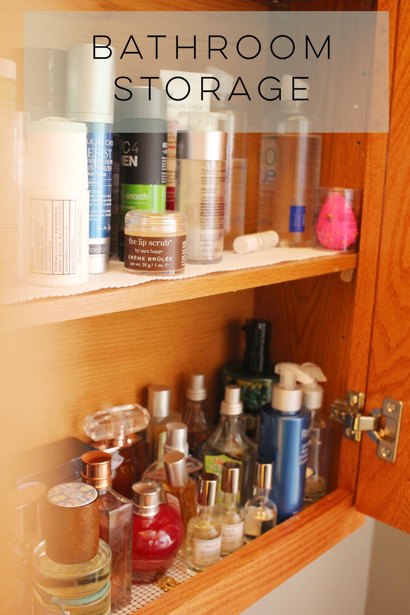 Beauty Organization and Storage
