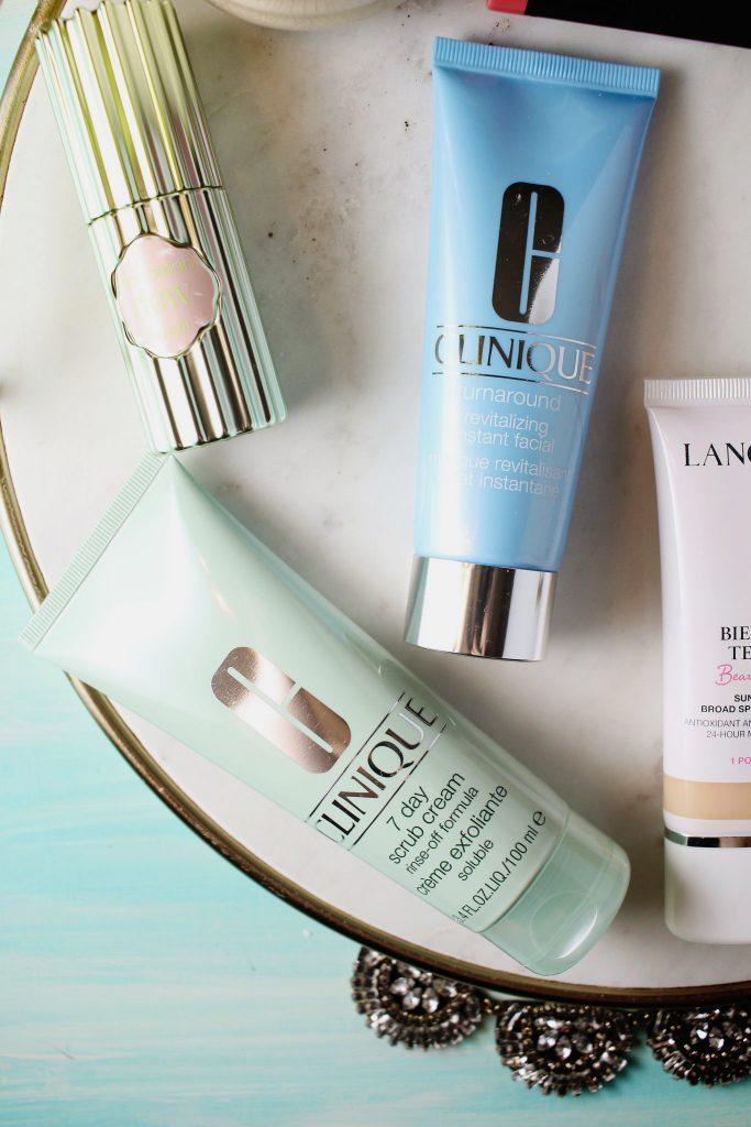 Clinique 7 Day Scrub Cream, Clinique Turnaround Revitalizing Instant Facial