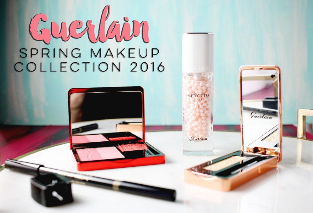 Guerlain makeup collection for Spring 2016