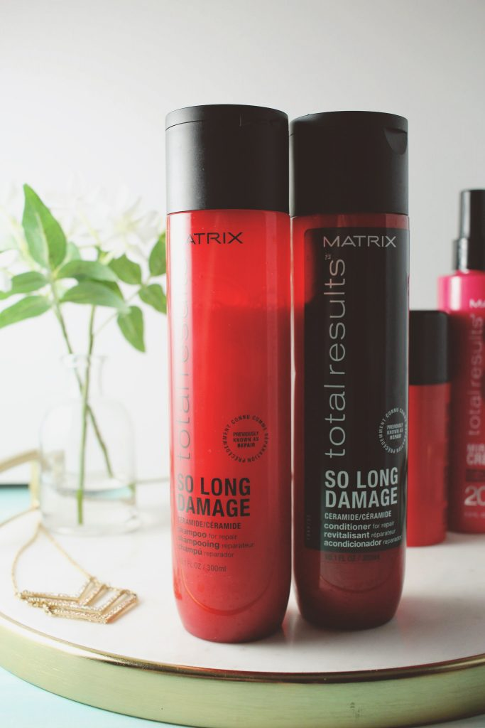 Matrix Total Results So Long Damage Shampoo and Conditioner