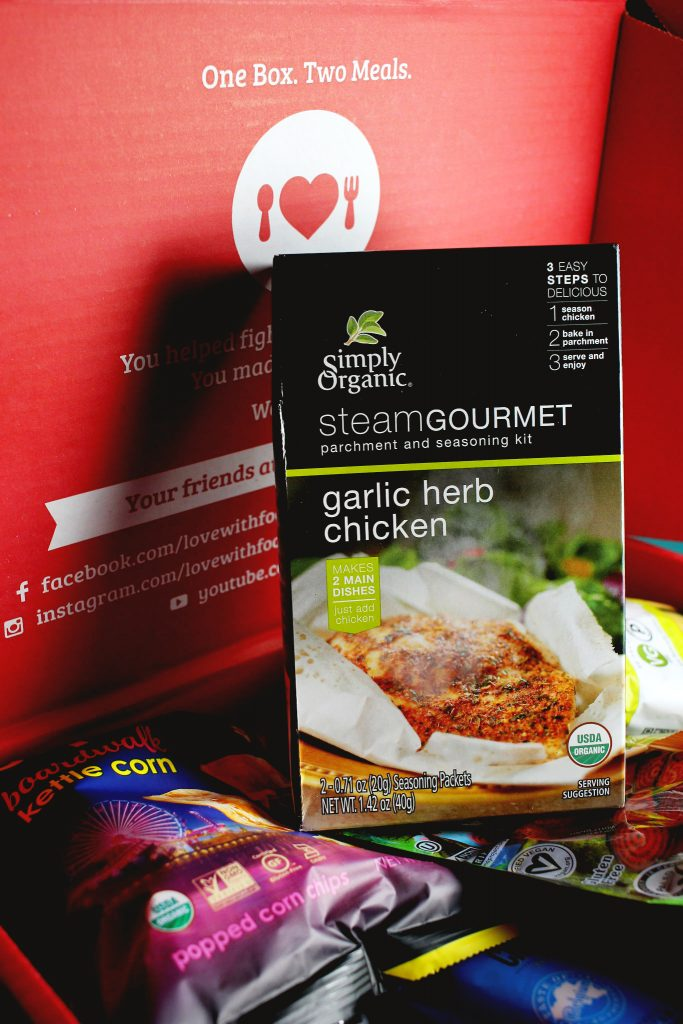Simply Organic Garlic Herb Chicken