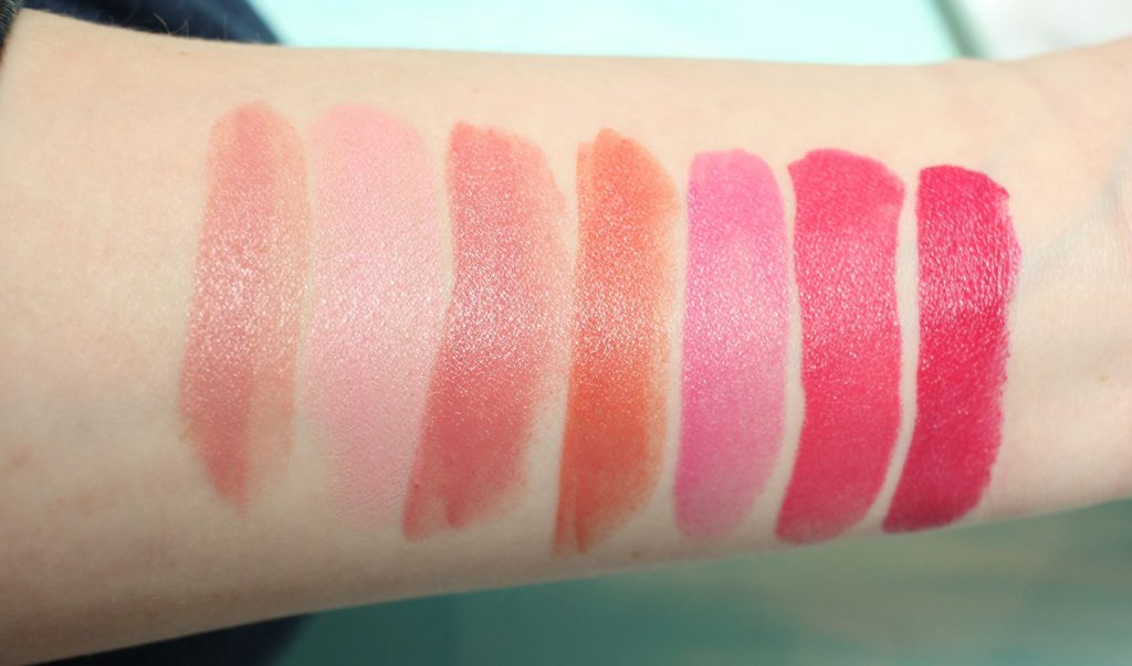 Bite Beauty Amuse Bouche swatches