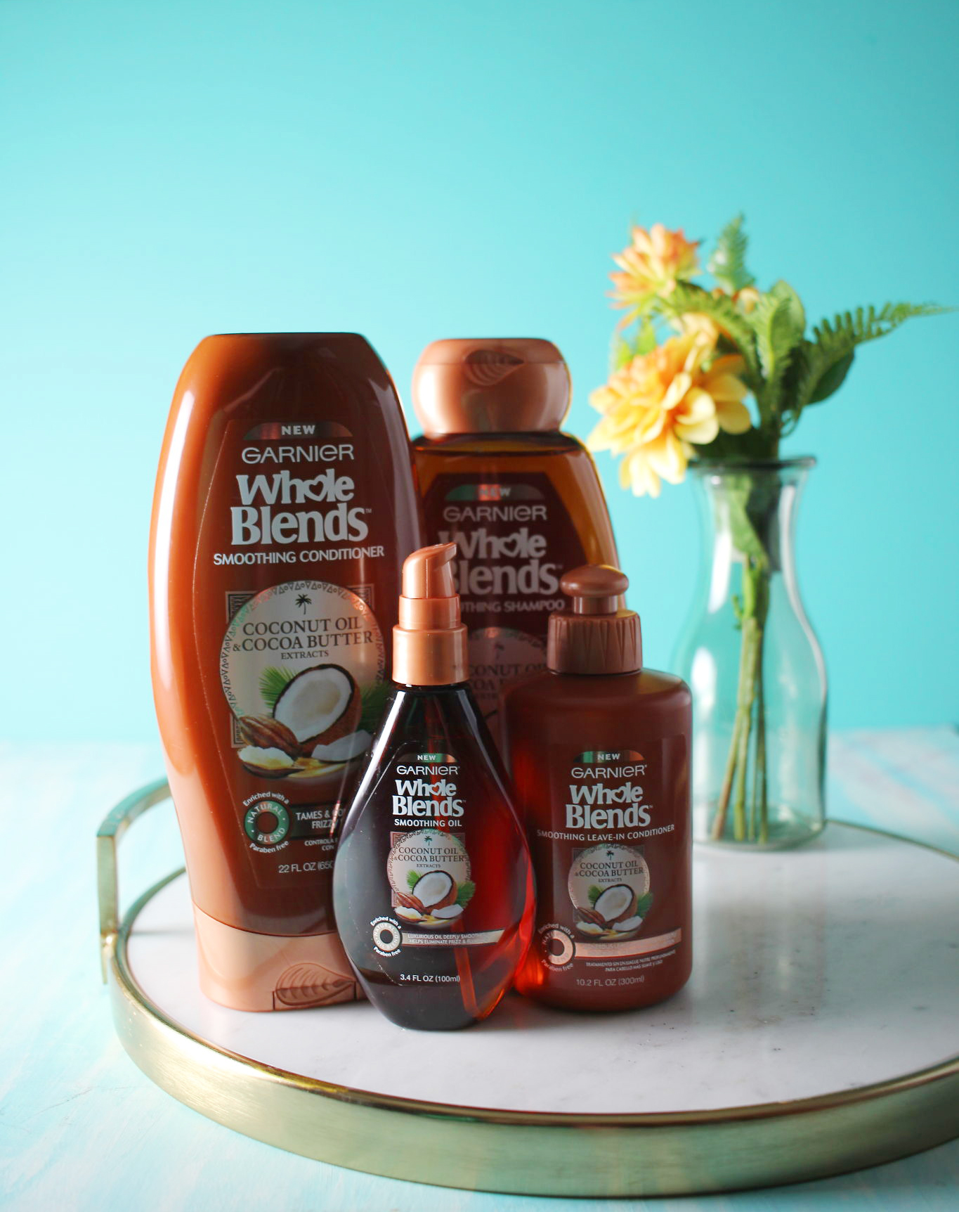 Garnier Whole Blends Smoothing Line
