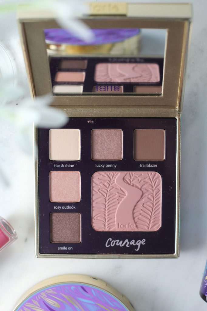Tarte Double Duty Beauty Day and Night Eye and Cheek Palette Classic Courage