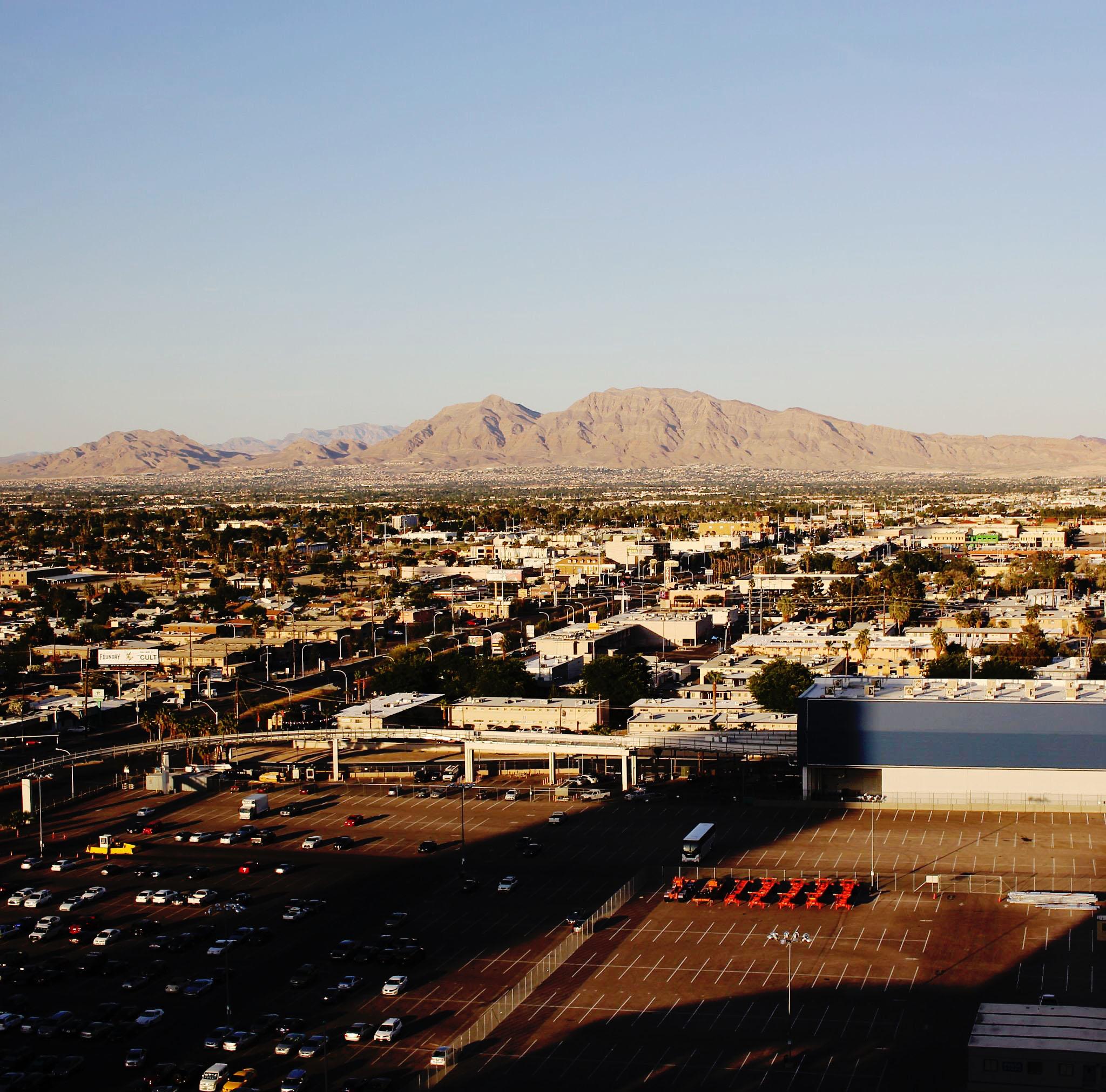 view from SLS Las Vegas Story Metropolitan King