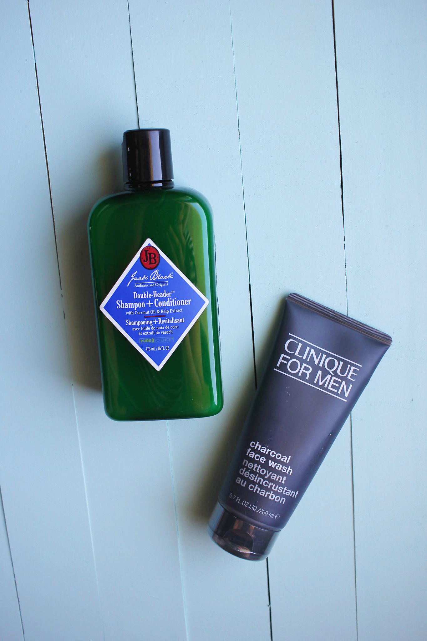 Jack Black Double Header and Clinique Charcoal Face Wash