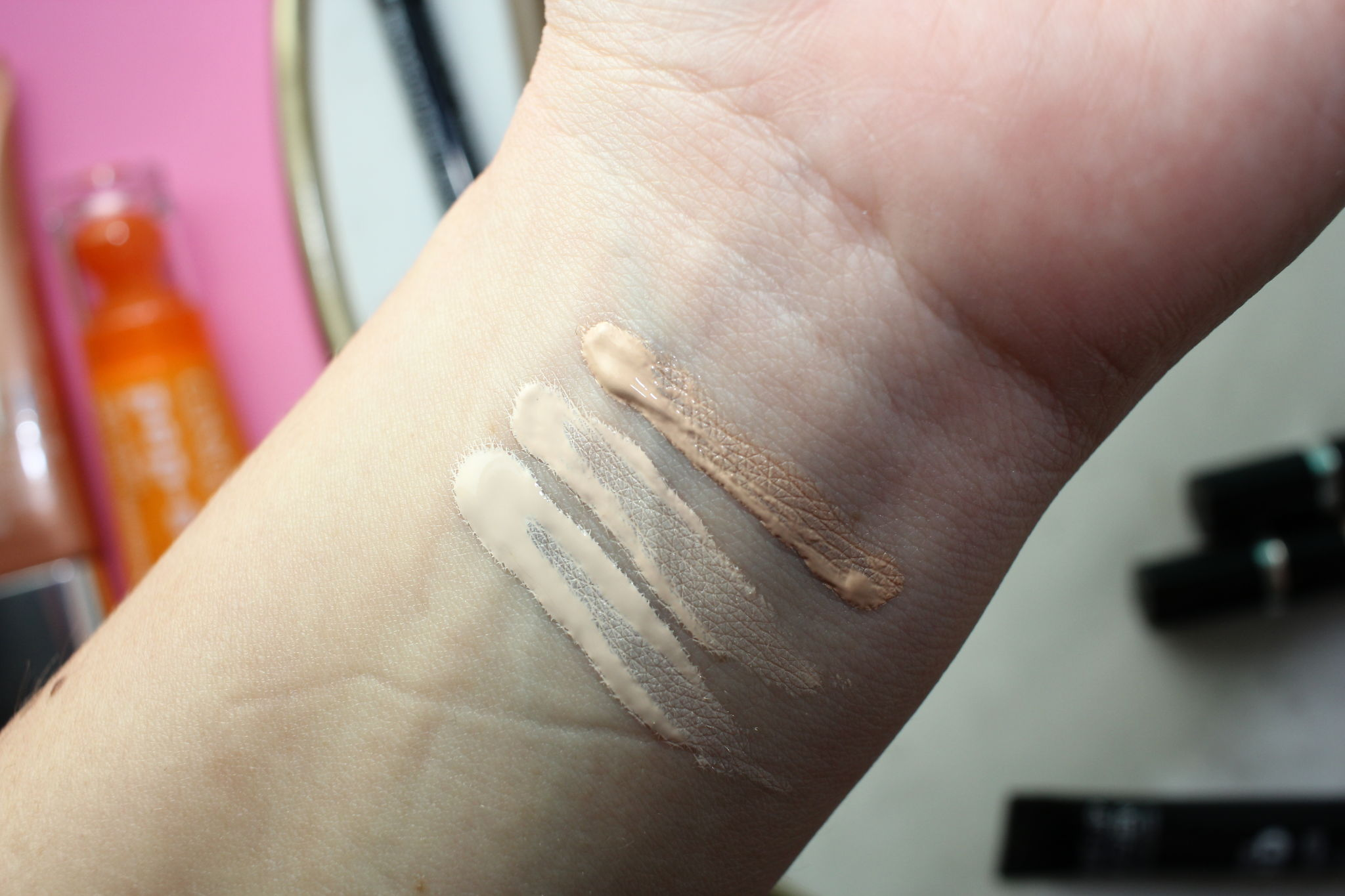 MUFE Ultra HD Concealer in Y21, R20 and R30