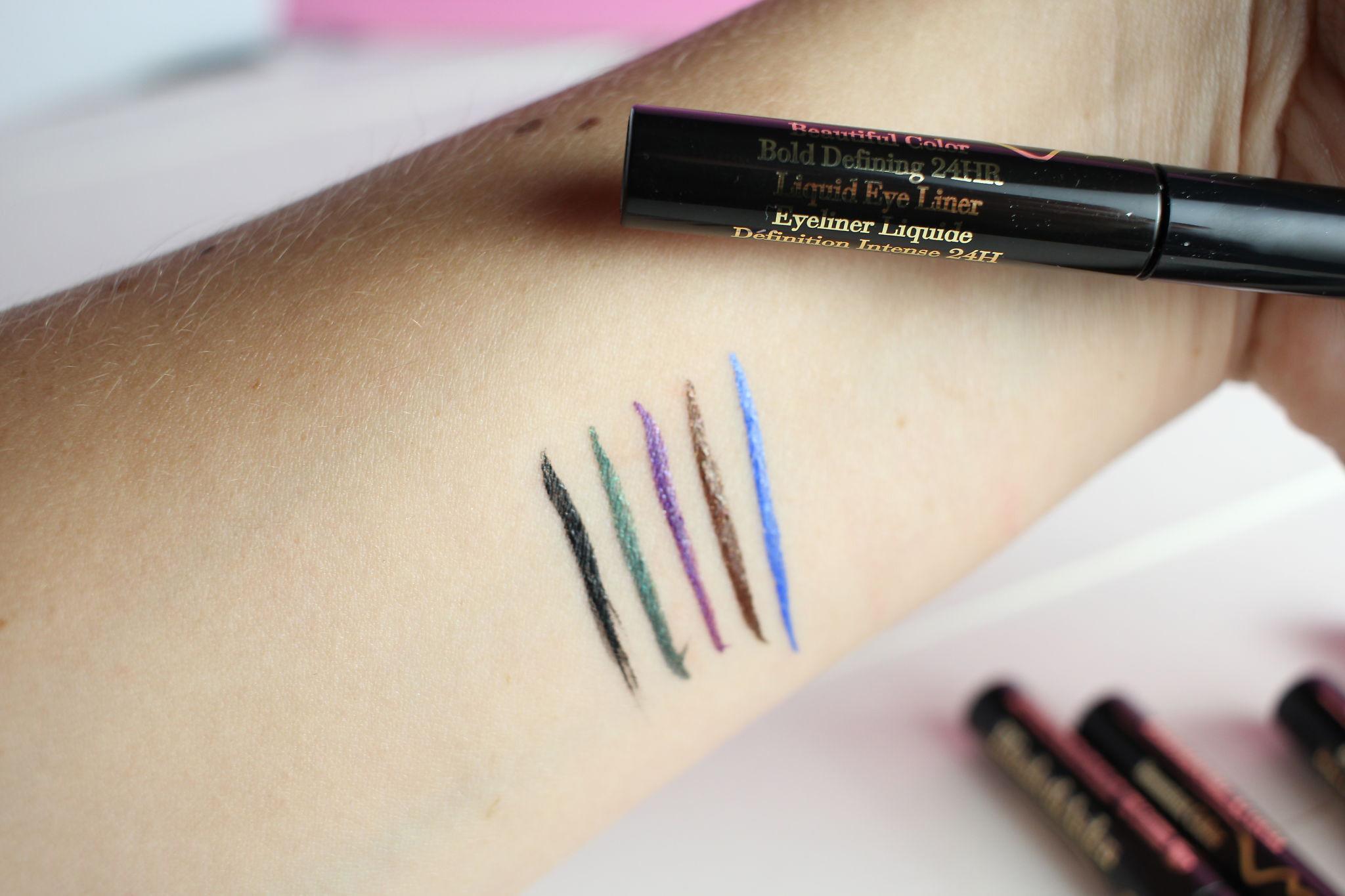 Elizabeth Arden Beautiful Color Bold Defining 24HR Liquid Eye Liner 4