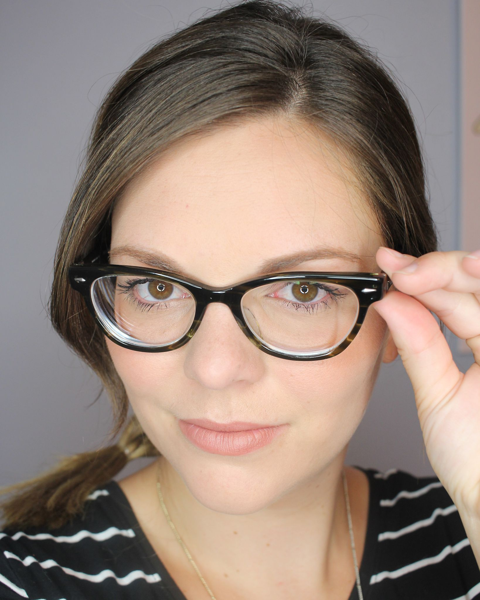 Makeup you can wear with glasses