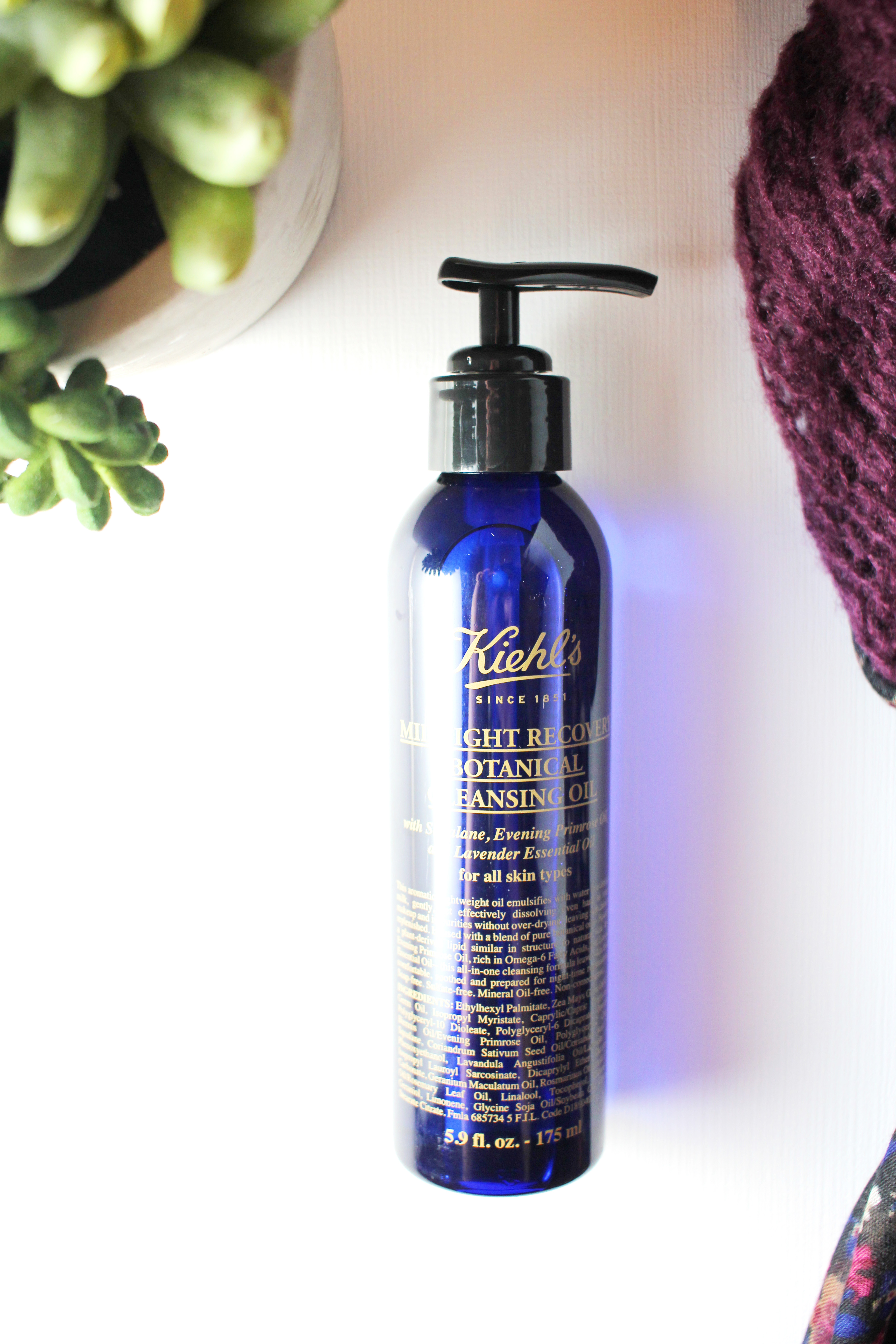 kiehls-midnight-recovery-botanical-cleansing-oil-review