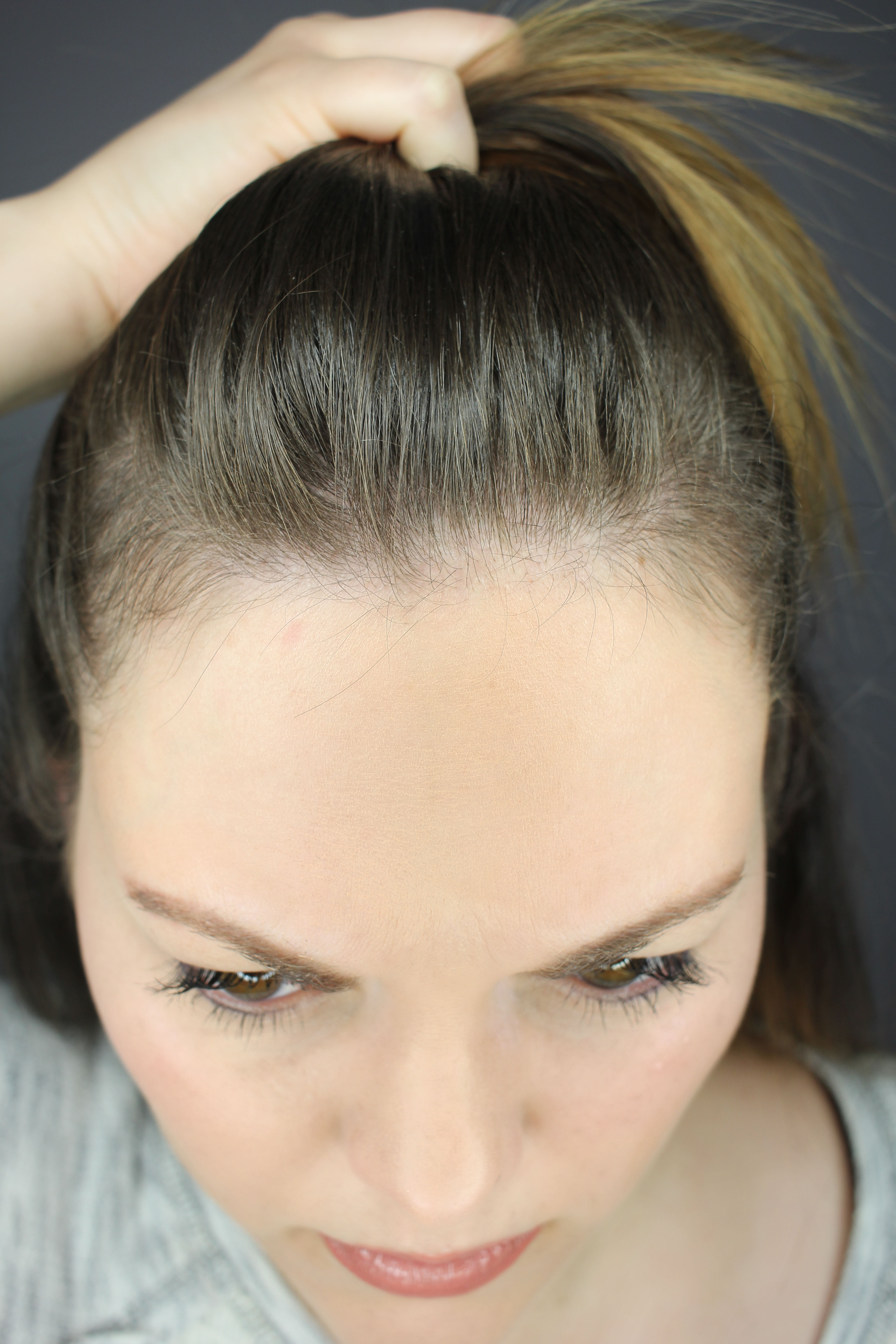 How I Grew My Hair Back Post Partum Naturally And In One Month