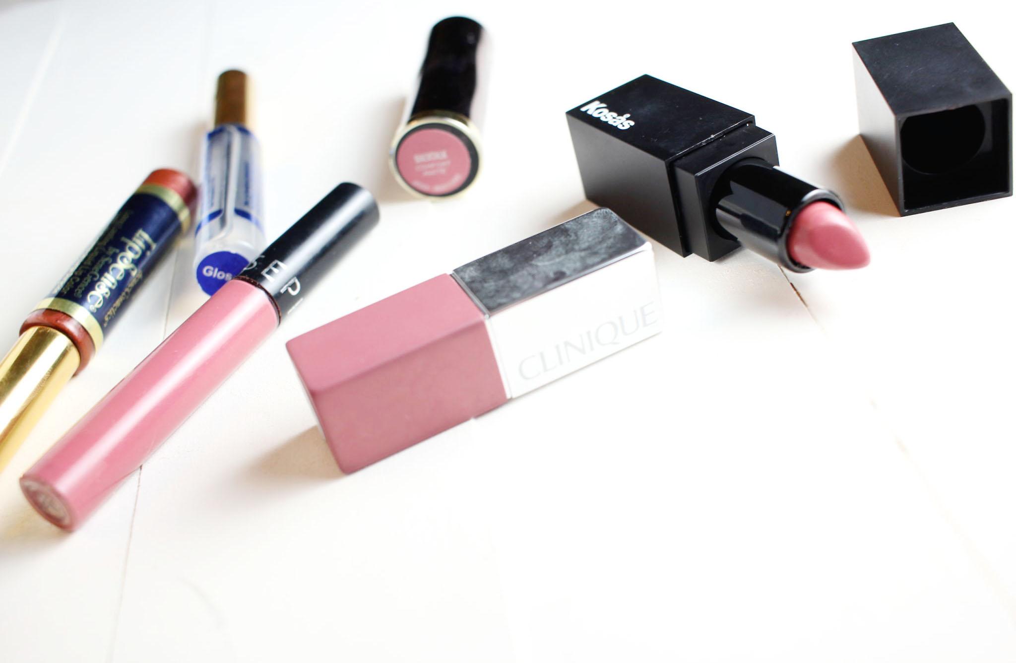 My Favorite Mauve Nude Lipsticks