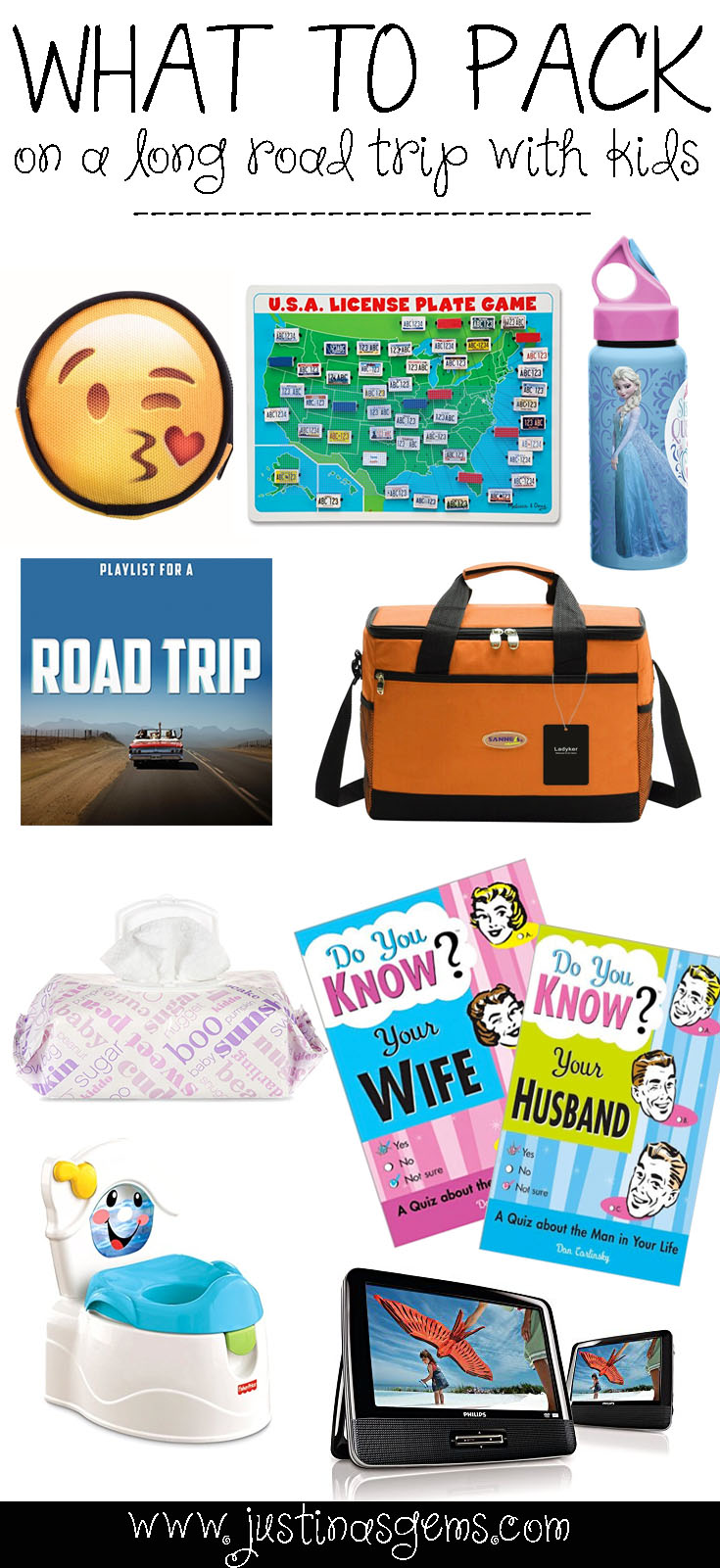 What to Pack on a Long Road Trip with Kids