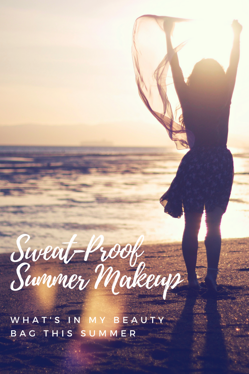 Sweat-Proof Summer Makeup Bag
