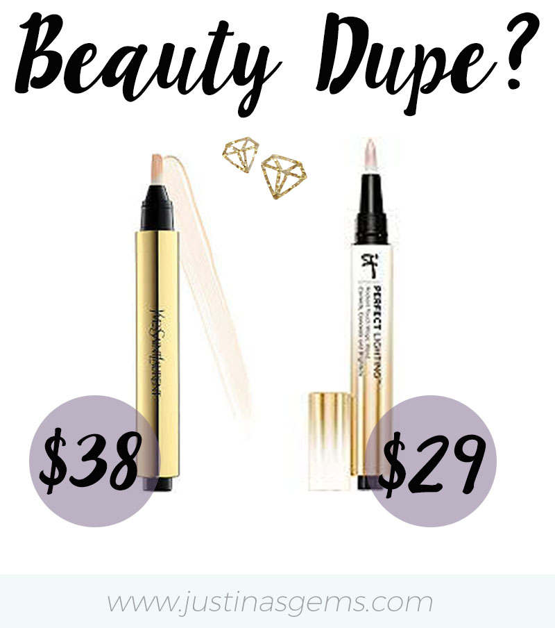 Beauty Dupe for YSL Touche Eclat