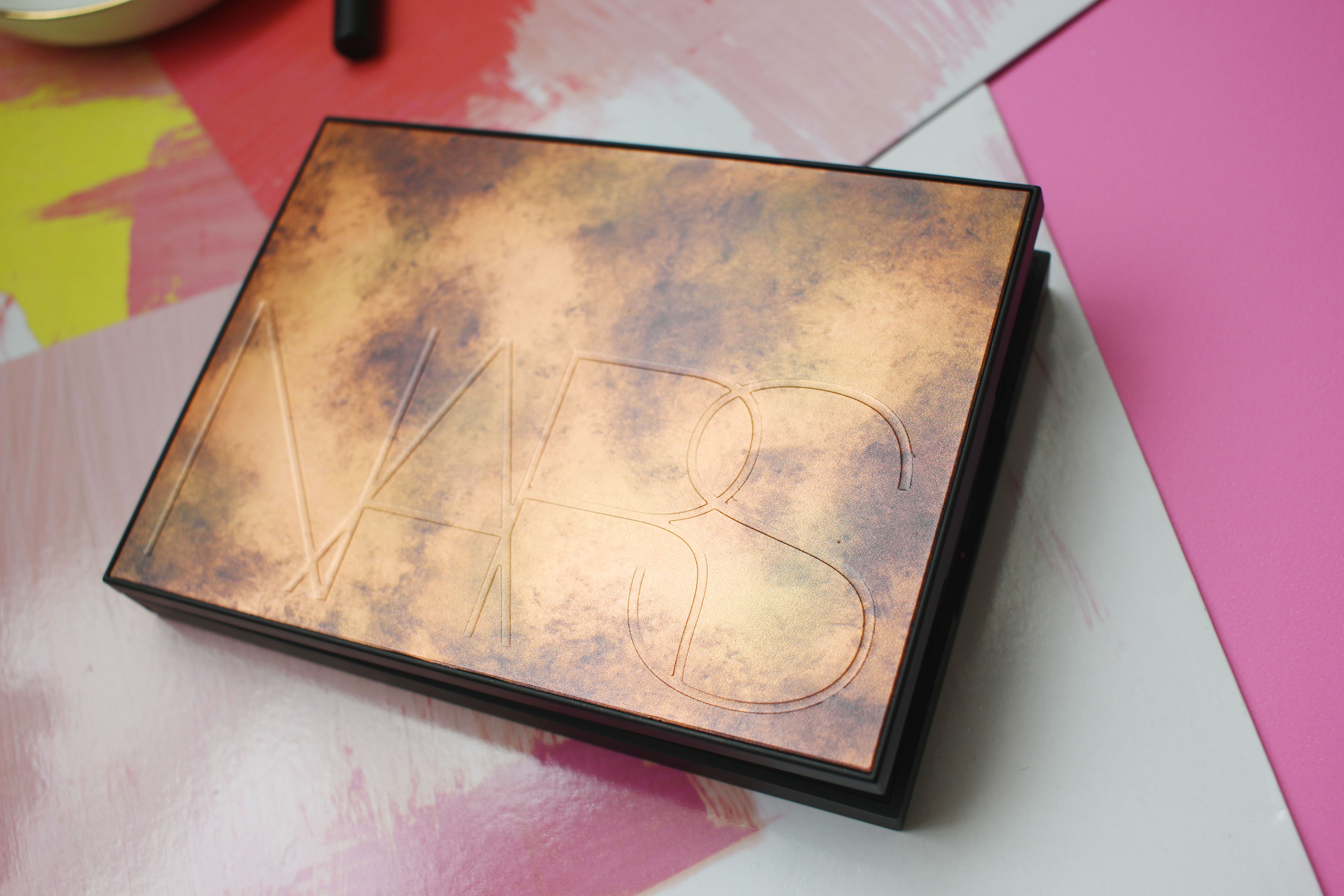 NARS Bord De Plage Highlighting and Bronzing Palette review
