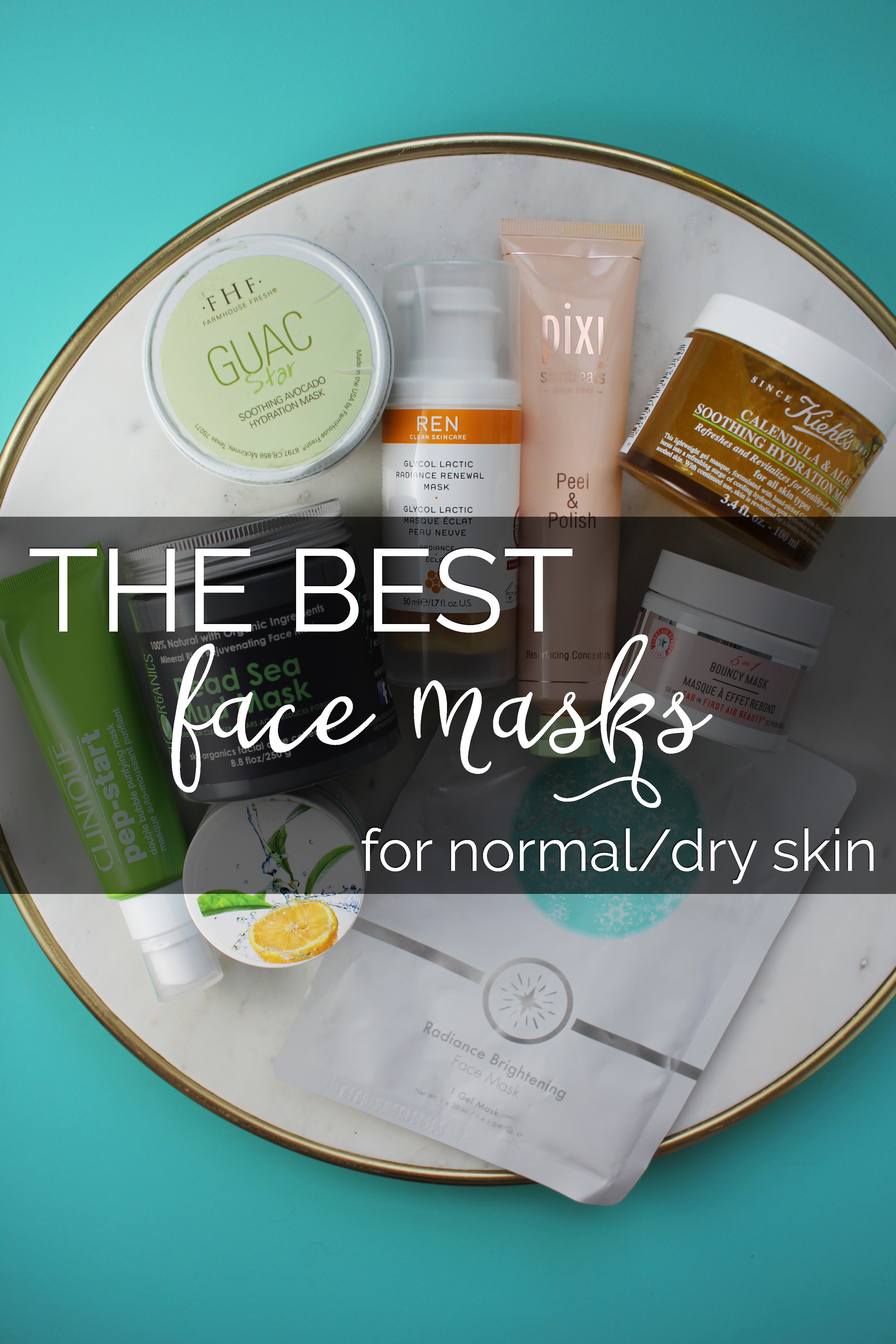 The Best Face Masks for Normal/Dry Skin