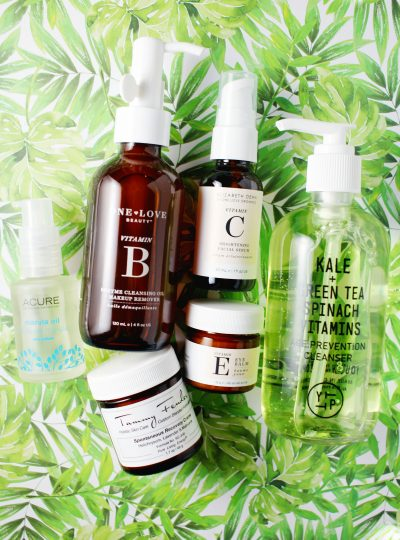 Best Clean/Less Toxic/Natural Skincare Finds