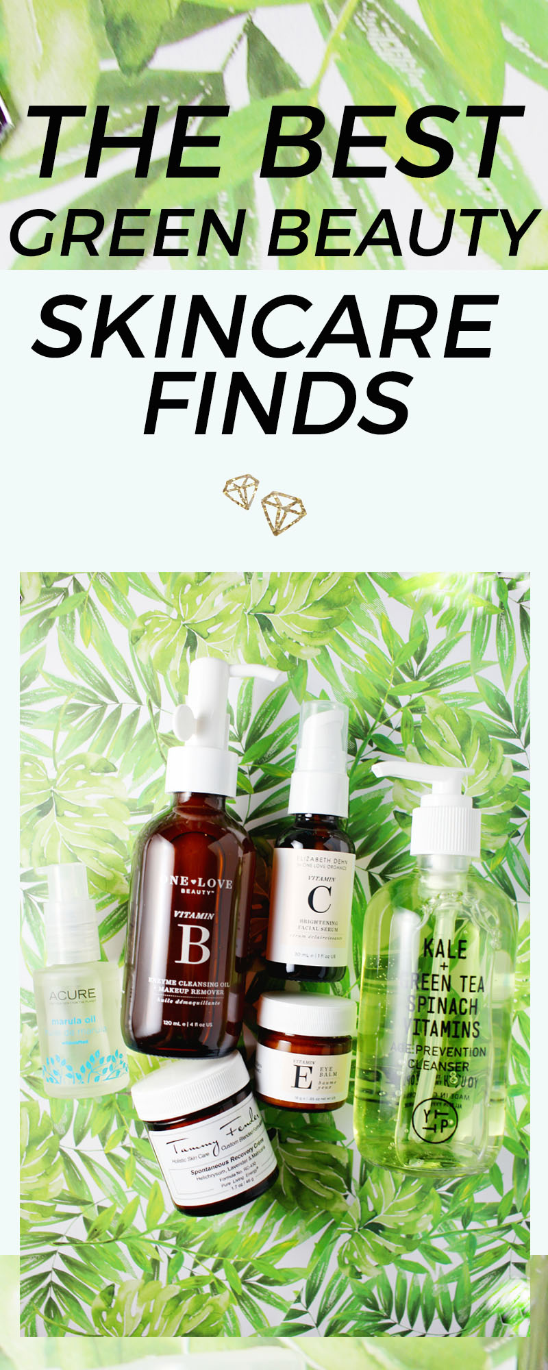 The best green beauty skincare finds