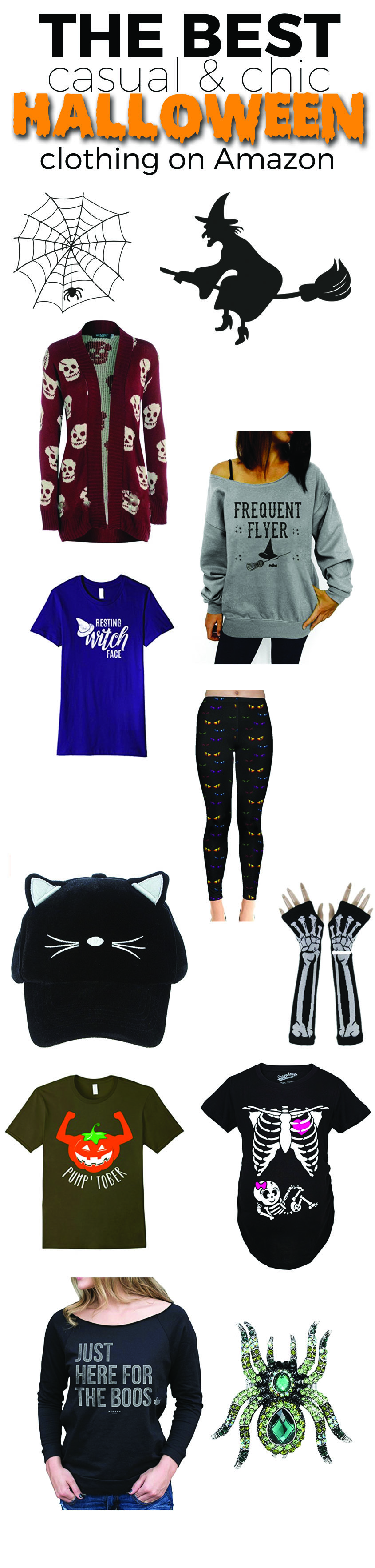 The Best Casual & Chic Halloween Themed Clothing on Amazon ...