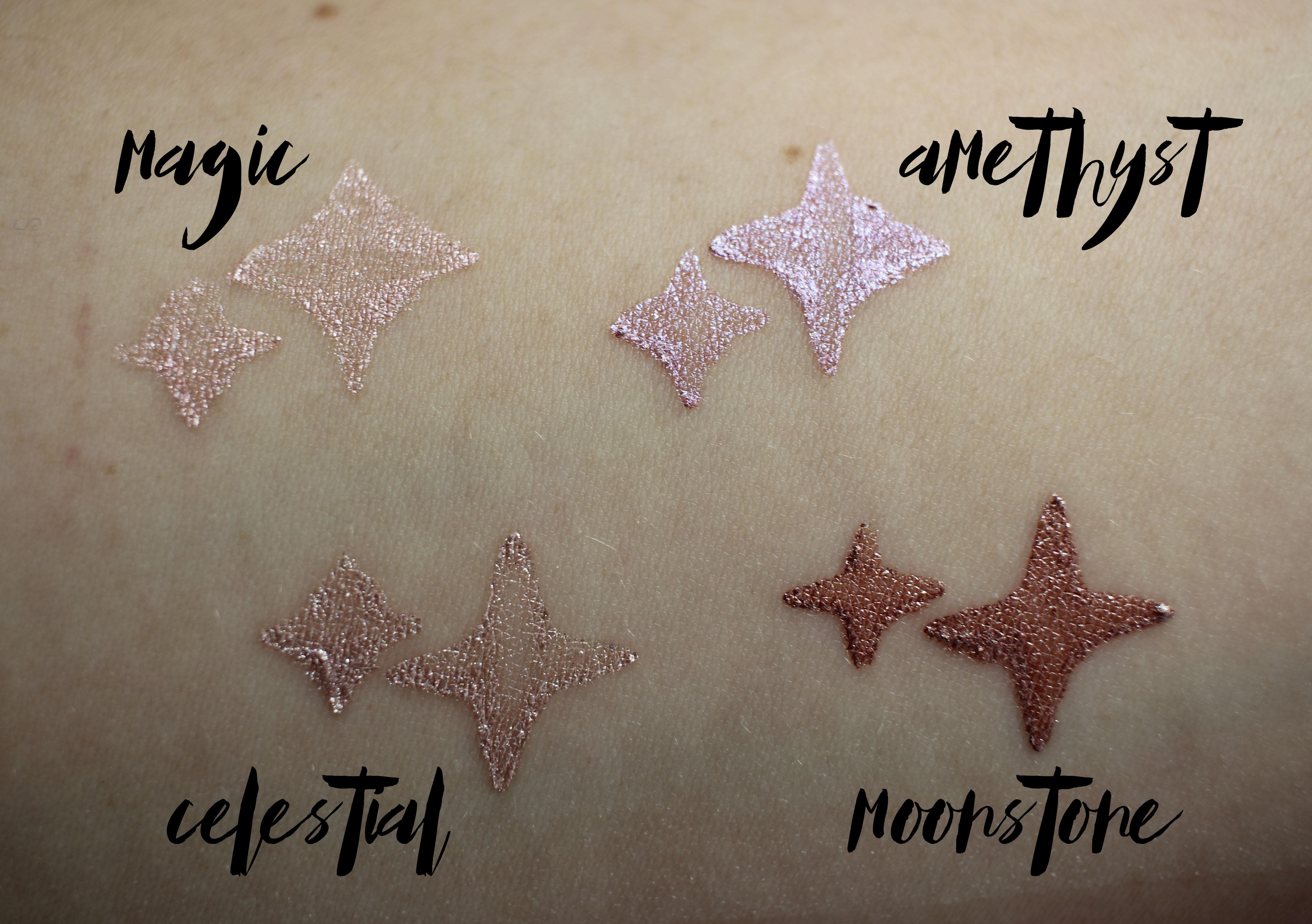 Cover FX Shimmer Veil- Celestial, Magic, Amethyst, Moonstone