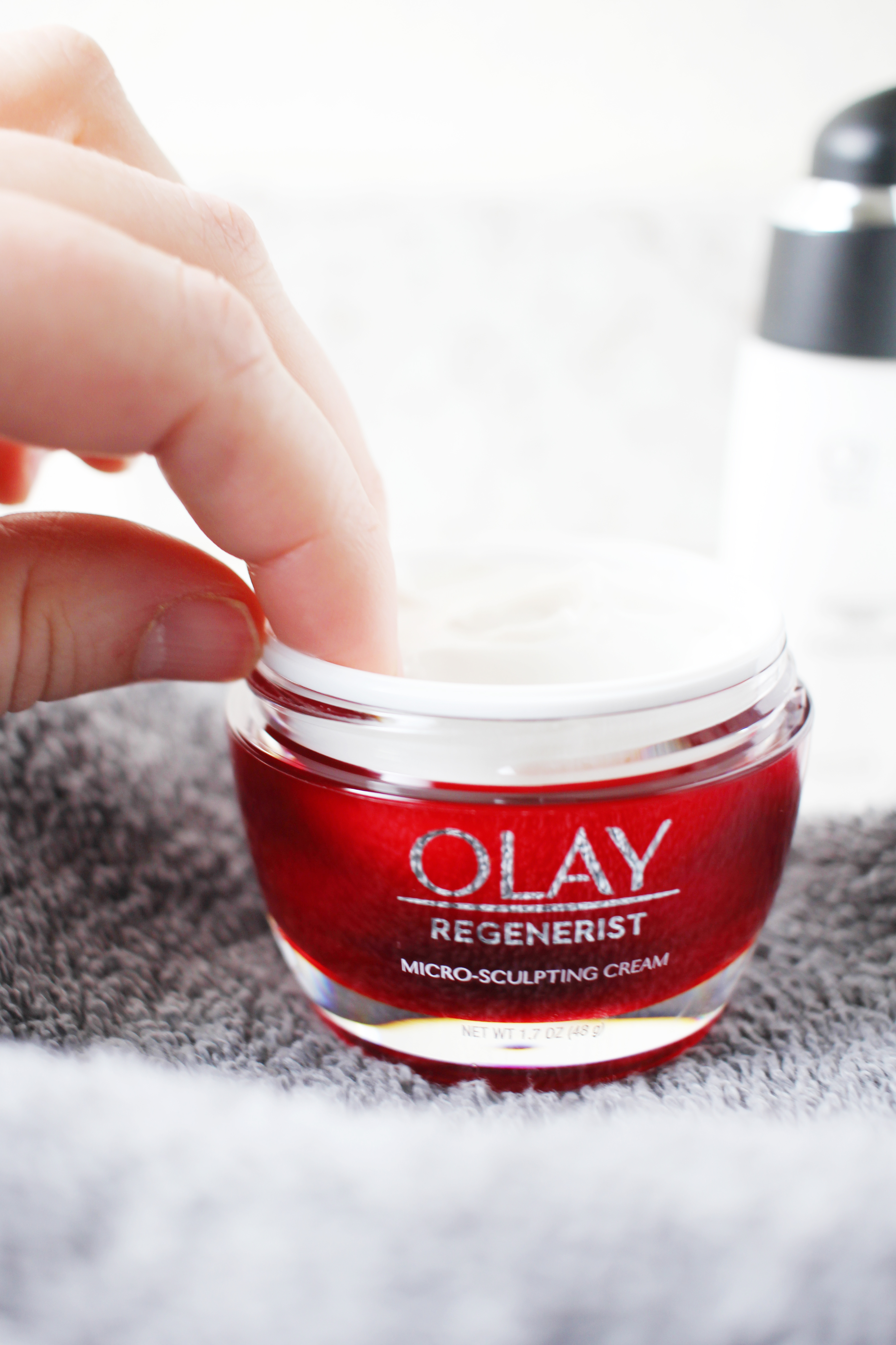 Reset my skincare routine with Olay