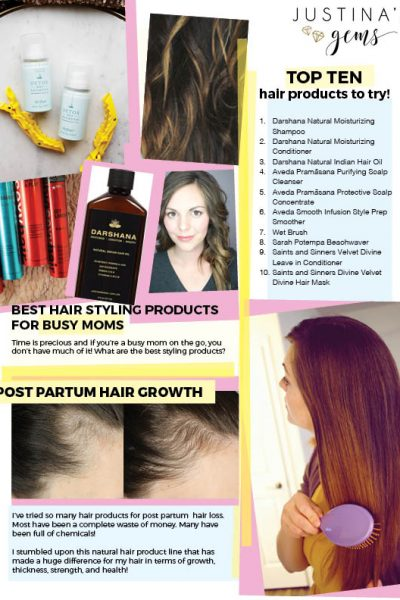 Beauty Tips for Busy Babes- All About Hair