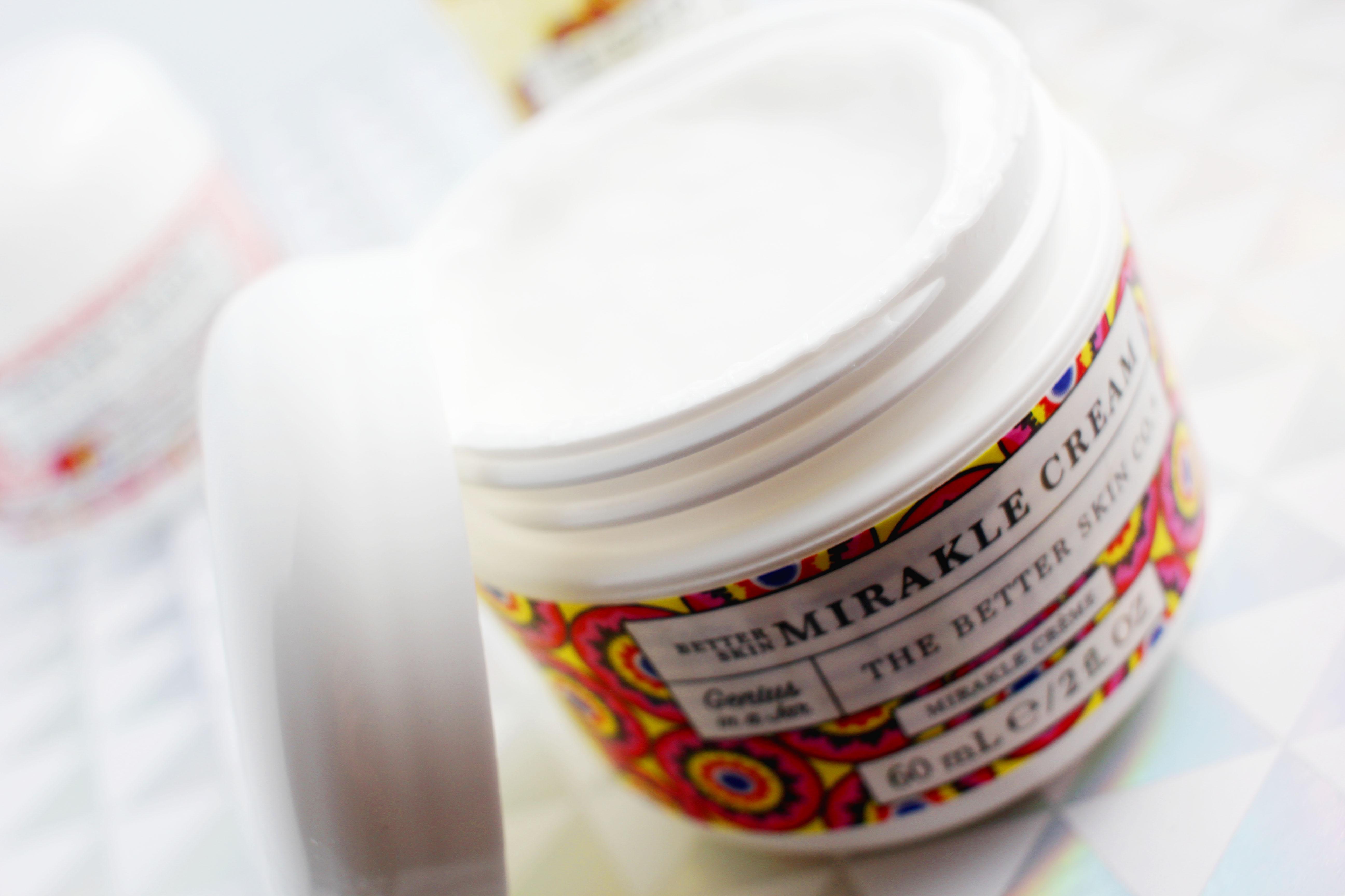 Mirakle Cream Genius in a Jar