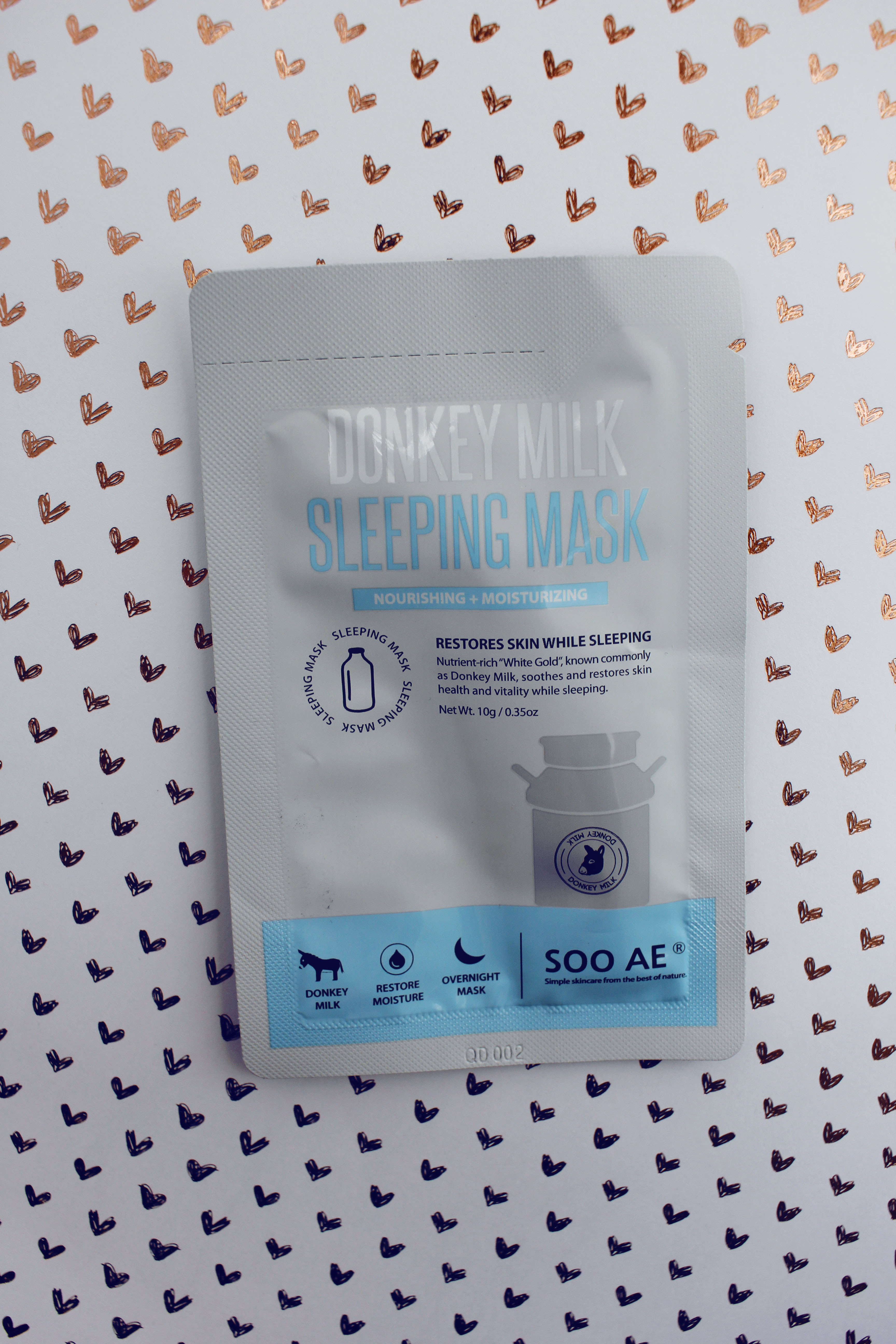 Donkey Milk Sleeping Mask by Soo Ae