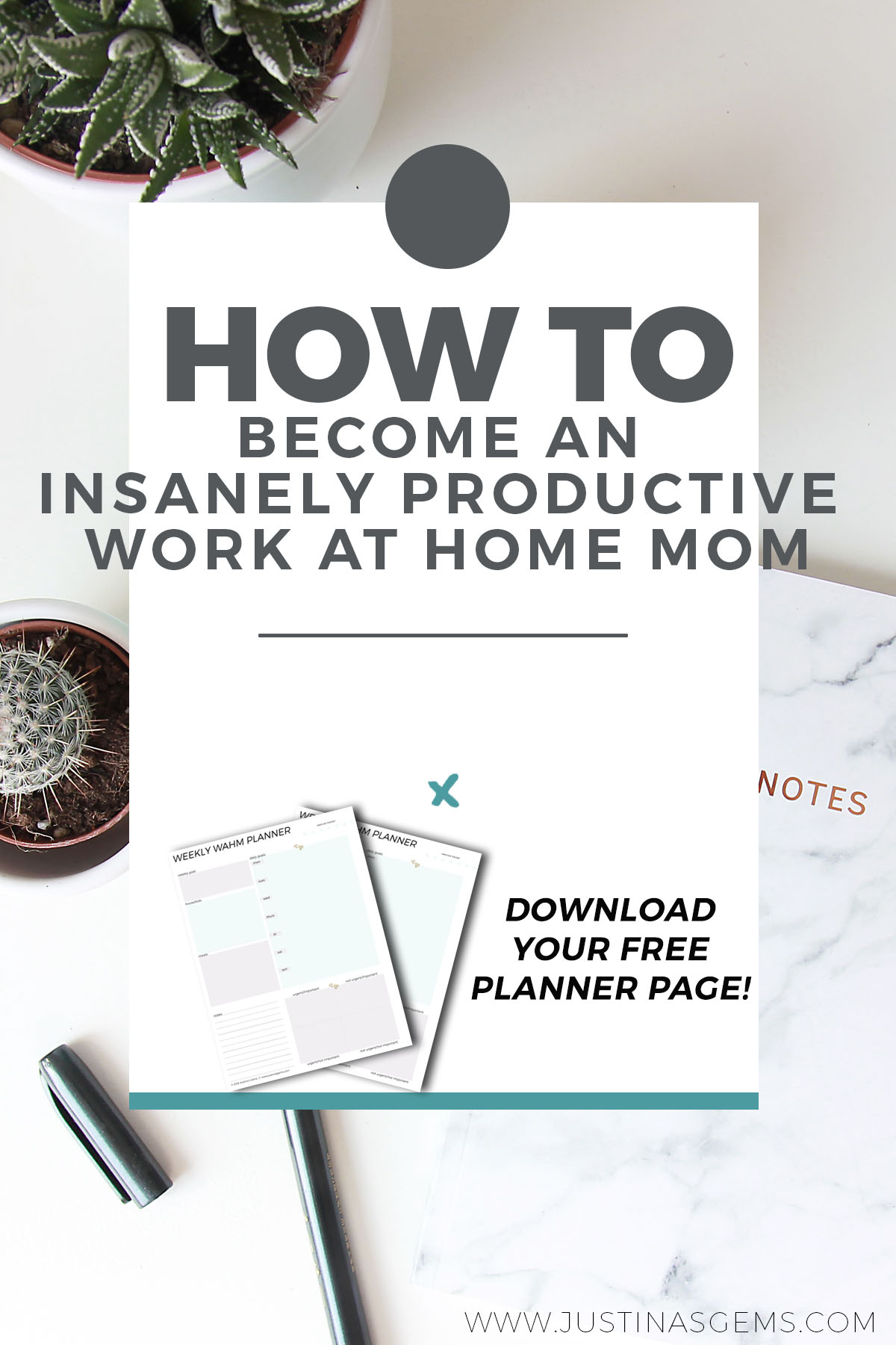 How to become an insanely productive work at home mom