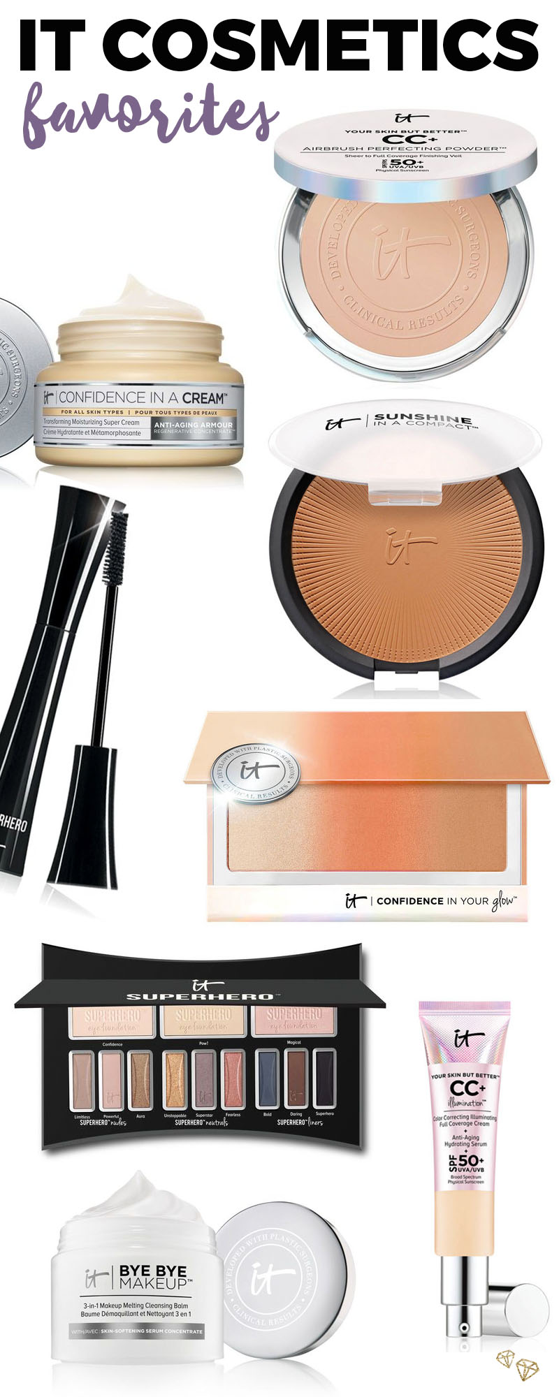 IT Cosmetics Favorites