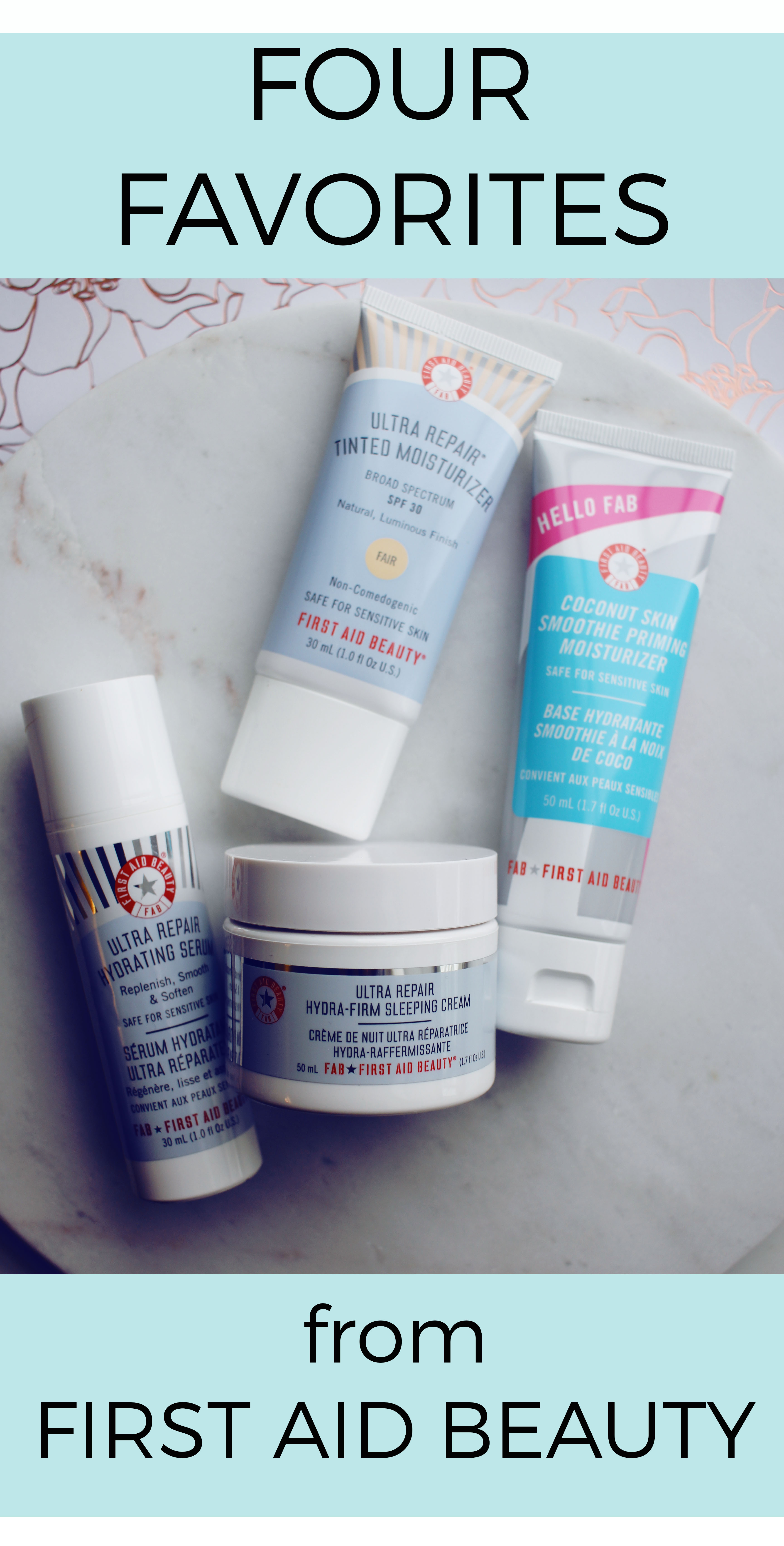 First Aid Beauty skincare product review