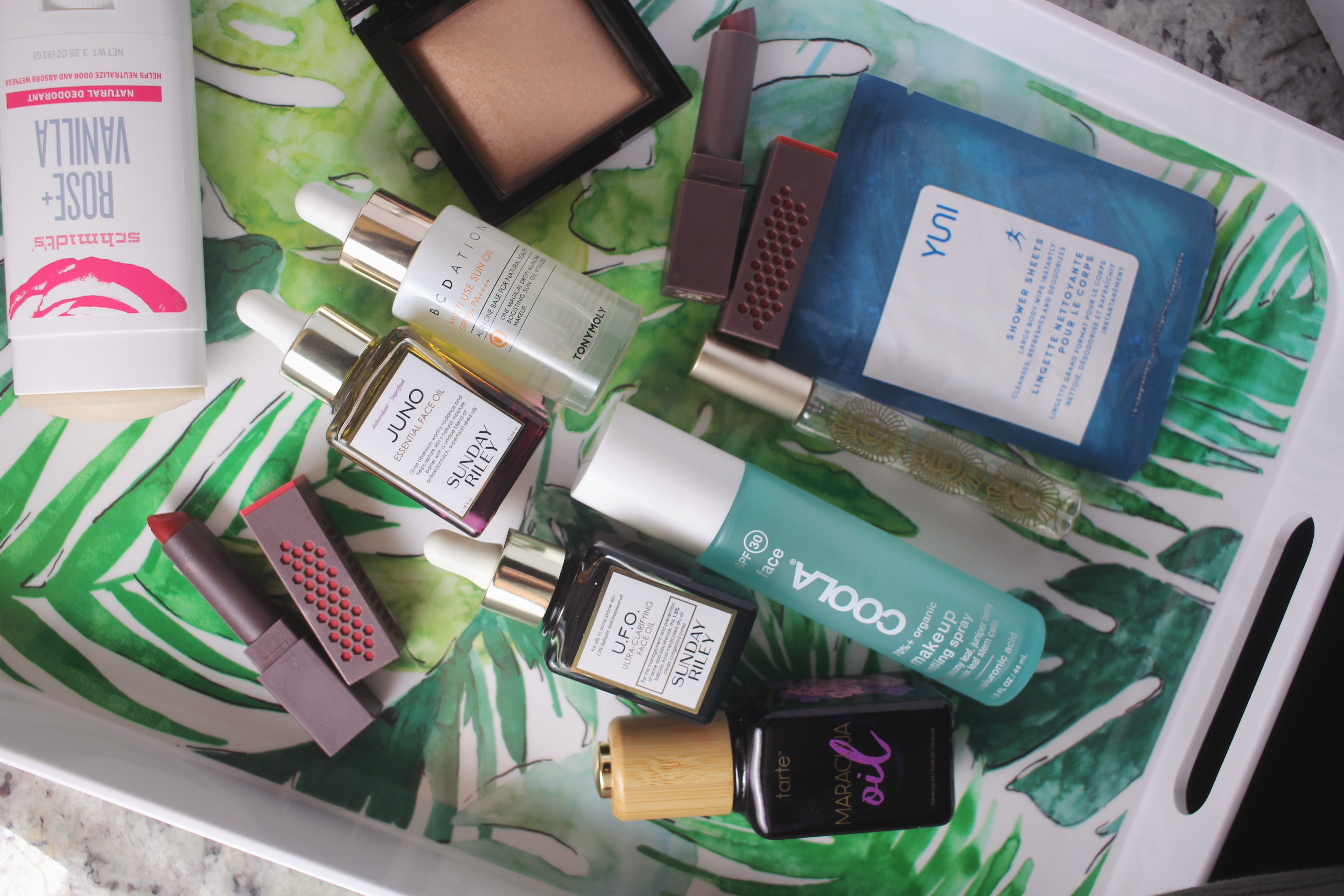Green Beauty at Macy's